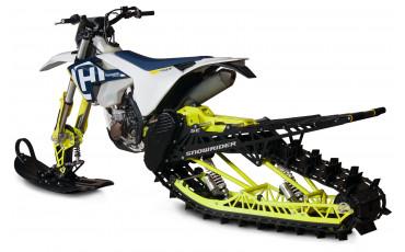 Гусеничные комплекты для мотоциклов от бренда SNOWRIDER.