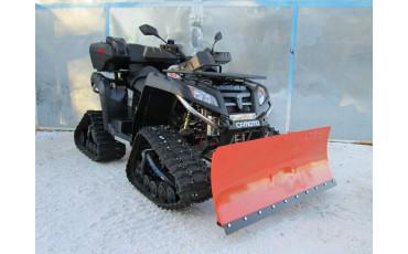 Квадроцикл с гусеницами: как снегоход, только лучше?