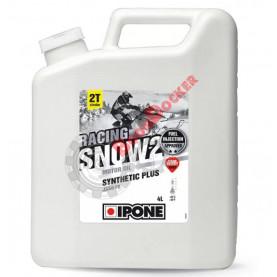 800174 Масло моторное синтетическое для снегоходов IPONE SNOW RACING 2T 4 литра
