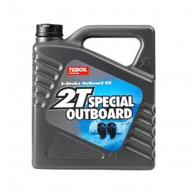 Масло TEBOIL 2T Outboard синтетическое, 4л