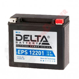YTX20L-BS Аккумулятор DELTA EPS12201 YTX20L-BS (175*87*155)