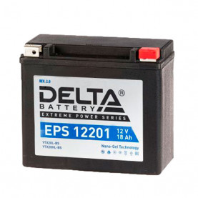 YTX20L-BS Аккумулятор DELTA EPS12201 YTX20L-BS (175*87*155)