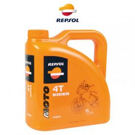 Моторное масло REPSOL MOTO RIDER 4T 15W-50 (4л)