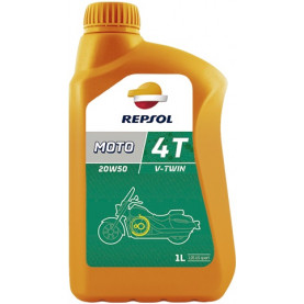 Моторное масло REPSOL MOTO V-TWIN 4T 20W-50 (1л)
