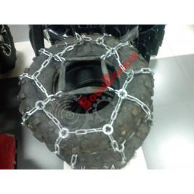 Комплект шин (шина CARLISLE AT489 25х8х12, 25х10х12) с цепями