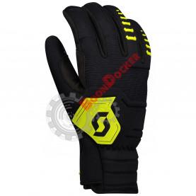 Перчатки мужские SCOTT Ridgeline, цвет черно-салатовый, размер XL SC_273331-2897009