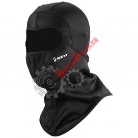 Подшлемник-маска SCOTT WIND WARRIOR OPEN HOOD-16, цвет черный, размер XXL SC_240507-0001010