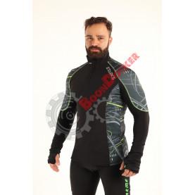 Фуфайка SARKS WARM Long shirt Extreme V2, муж, размер XL, черно-серый