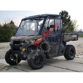 52S03U01S100 Стекло DFK для Can-am TRAXTER/Defender (передняя панель+стеклоочиститель+омыватель)