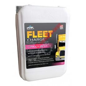 ASTM D6210 Охлаждающая жидкость PEAK FLEET CHARGE 60/40 до -54, 10л.