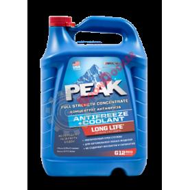 Охлаждающая жидкость PEAK LONG LIFE 50/50, до -37,  красный 3,78л