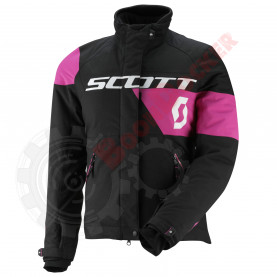 Куртка женская Team, размер L, черно-розовая