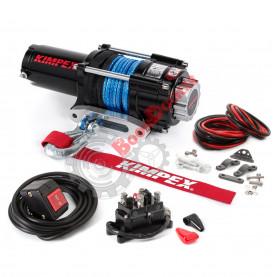 458243 Лебедка электрическая с синтетическим тросом KIMPEX 2500 LBS (1134 кг) 458243