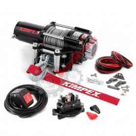 458210 Лебедка электрическая со стальным тросом KIMPEX 2500 LBS (1134 кг) 458210