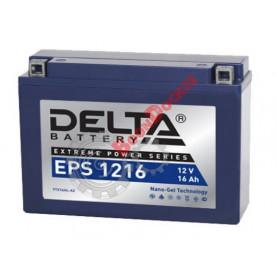 YTX16AL-A2 Аккумулятор DELTA EPS1216 YTX16AL-A2,  (205x70x162)