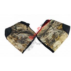 156669 защита-утеплители для рук, краги, муфты черные QUADBOSS 156669, QB3-003