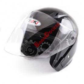Шлем Ataki OF512 Solid черный глянцевый, размер XL
