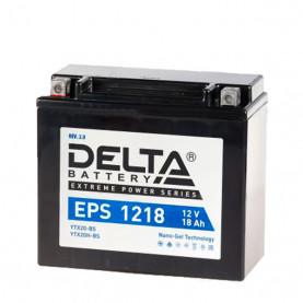 YTX20BS Аккумулятор DELTA EPS1218 YTX20BS/YTX20H-BS,  (176x87x154)