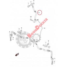 59480-31G30 Тормозной шланг для квадроциклов Suzuki моделей KingQuad 500/750 59480-31G30/59480-31G31