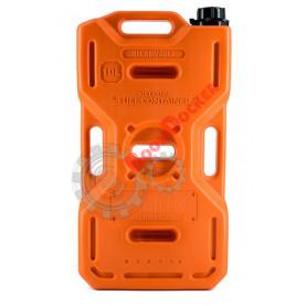 Экспедиционная канистра Экстрим + 10 литров оранжевая