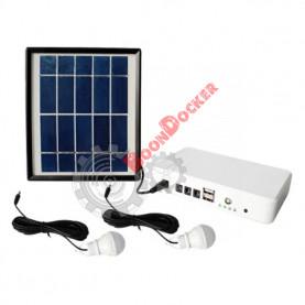 Солнечная панель для подзарядки/освещения от солнца Delta Tourist Camper 2