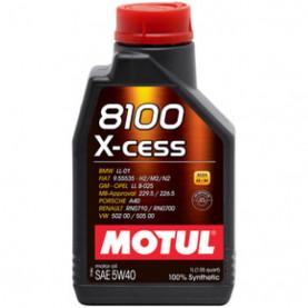 102784 масло MOTUL 8100 X-CESS 4T 5W-40 1л.