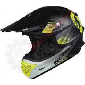 Шлем Scott Dirt 350 Pro ECE черно\\зеленый, размер S