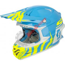 Шлем Scott 350 Pro Race ECE белый\\синий, размер L
