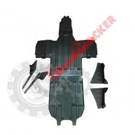 000001819 Защита днища пластиковая Polaris RZR 1000 EFI 2014-2018 комплект