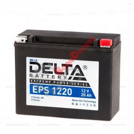 Аккумулятор Delta EPS 1220 12V/20Ah обратная -/+ 205X87X162 mm YTX24HL-BS/YTX24HL/EPS 1220