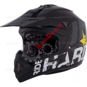 Шлем кроссовый CKX TX529 Ride Hard черный размер M