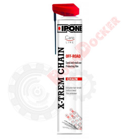 800648 Смазка цепи спрей IPONE X-Trem Chain OFF-Road 750 ml