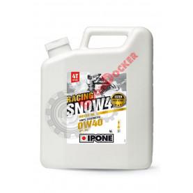 800183 Масло моторное синтетическое для снегоходов IPONE SNOW RACING 4T 0W-40 4 литра