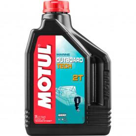 101726 масло MOTUL OUTBOARD TECH 2T 2л. 101726