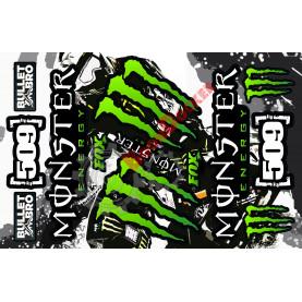 Стикер пак универсальный Monster, 509