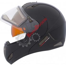 Шлем снегоходный модуляр CKX TRANZ RSV SOLID EDL черный размер XL