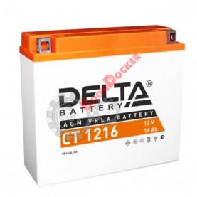 YB16AL-A2 Аккумулятор DELTA CT1216 YB16AL-A2,  (205x70x162)