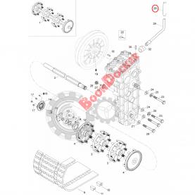"""28247 Ручка переключения КПП Scandic WT/SWT/SUV Lynx Yeti 550/800/1300 1997-2012"""" M28247"""