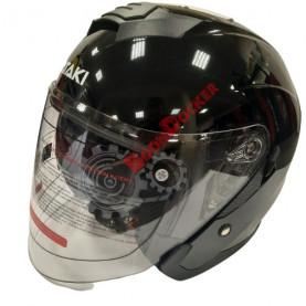 Шлем Ataki JK526 Solid черный глянцевый размер S 020229-823-4654