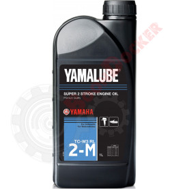 90790BG20500 Масло моторное минеральное Yamalube 2-M TC-W3 RL 1 литр для 2-тактных двигателей ПЛМ