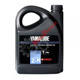 YMD6302105A2 Масло моторное минеральное Yamalube 2-M TC-W3 RL 5 литров для 2-тактных двигателей ПЛМ