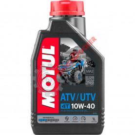 105878 Масло моторное минеральное для квадроциклов MOTUL ATV-UTV 4T 10W40 1 литр