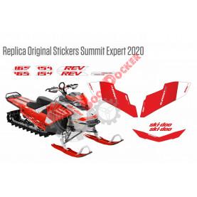 Реплика оригинальных наклеек Summit Expert 2020