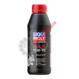7589 Синтетическое трансмиссионное масло для мотоциклов Motorbike Gear Oil 75W90 0,5 литра