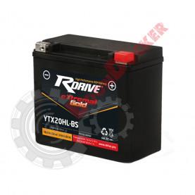 YTX20HLBS Аккумулятор R-DRIVE  YTX20HLBS (175*87*155)