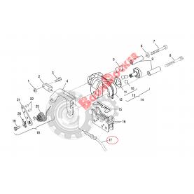 7080666 Трос тормоза для снегоходов Polaris Widetrak LX 7080666