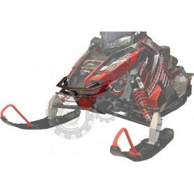 241-26421RB Бампер передний черный для снегоходов Polaris AXYS PRO RMK 241-26421RB