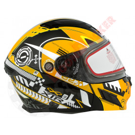 Шлем MODE2 SNOW EVOLUTION желтый, размер XL