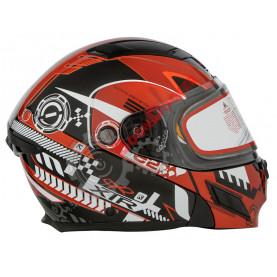 Шлем XTR Mode2 Snow EVOLUTION красный размер XXL XTR-260-D10301