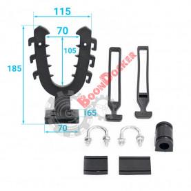 33-20-022-L Крепление-рогатка (большое, изогнутое основание) 33-20-022-L